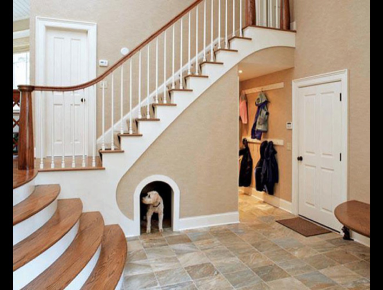 How To Build A Dog House Under Your Stairs