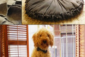 DIY - Easy dog bed project