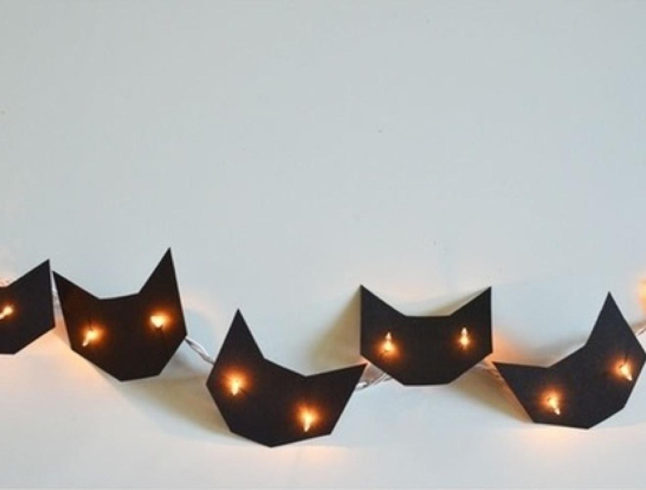 Extrem DIY : Créez une guirlande lumineuse en forme de chat - Yummypets FT53