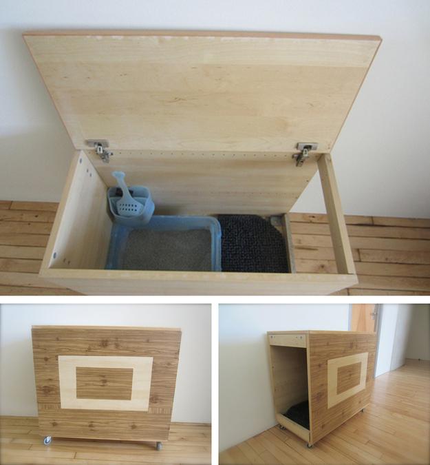 blog_yummypets_littiere_04_2015 & DIY : 20 ideas for hiding your catu0027s litter box - Yummypets Aboutintivar.Com
