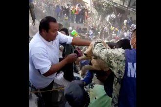 Séisme à Mexico : un chien vivant retrouvé dans les…
