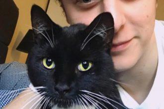 Norman vient de retrouver son chat…